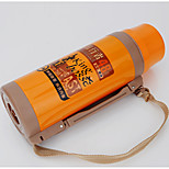 2000ML Stainless Steel / Hard Alumina Water Bottle Orange / Yellow Single Travol