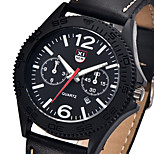 XINEW watch men relogios masculinos de luxo marcas famosas military sport Leather Calendar quartz Wrist watch