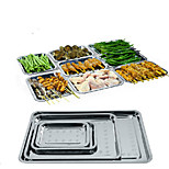 Bbq Dishes Stainless Plate