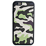 Camouflage Pattern Silk Material Pattern TPU Phone Case For iPhone 6s 6 Plus