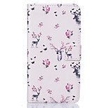 PU Leather Material Deer Pattern Painting Pattern  Phone Cases for Sony Xperia X/XP/Z5/Z5 Mini