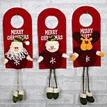 Christmas Tree Decor Ornaments Xmas Home Door Decoration Santa Claus Snowman Reindeer