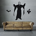AYA DIY Wall Stickers Wall Decals Halloween Decoration Ghost Type PVC Panel Wall Stickers  54*77cm