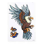 1pc Fake Flying Eagle Hawk Bird Claw Tattoo Body Arm Art Temporary for Women Men Tattoo Sticker HB-350