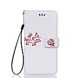 Full Body Card Holder Flip Embossed Flower PU Leather Hard Case Cover For LG  G4 G5 X5 X power