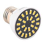 5W E26/E27 LED Spot Lampen MR16 24 SMD 5733 400-500 lm Warmes Weiß / Kühles Weiß Dekorativ AC 220-240 / AC 110-130 V 1 Stück