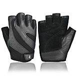 Men's Professional Training Glove Breathable Soft Leather Gloves Weightlifting Gym Rally Sports Gloves