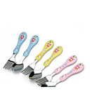 Children 304 Stainless Steel Spoon Fork Spoon Baby Child Stainless Steel