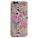 Para Funda iPhone 6 / Funda iPhone 6 Plus / Funda iPhone 5 Congelada / Traslúcido / Diseños Funda Cubierta Trasera Funda Animal Suave TPU