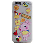Piggy Pattern Simple Matte Material TPU Phone Case For iPhone 6s 6 Plus SE 5s 5