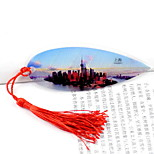 China Shanghai Oriental Pearl Scenic Tourist Trinkets Souvenir Bookmark Vein Landmarks