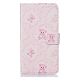 PU Leather Material Bear Pattern Painting Pattern  Phone Cases for Sony Xperia X/XP/Z5/Z5 Mini