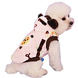 Lovely Cartoon Sheep Printing Fleece Hoodies for Pets Dogs (Assorted Sizes and Colours)