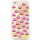 Para Capinha iPhone 6 / Capinha iPhone 6 Plus Liquido Flutuante / Estampada Capinha Capa Traseira Capinha Other Rígida PC AppleiPhone 6s