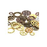 styles beadia 100g aassorted&couleurs alliage charme de vitesse de roue en métal