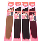 1PC New Look Yaki Wave 18 Straight Synthetic Hair Extension Hair Weave Various Colors