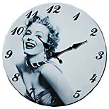 1PC Archaize Clocks  Occident Environmental Protection Quality Wall Clock(Pattern is Random)