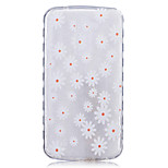 TPU Material Small Huang Ju Pattern Painted Slip Phone Case for LG K10/K8/K7/K5/K4/G5/G4/G3