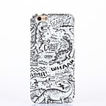 Back Cover Pattern Dinosaur PC Hard Case Cover For Apple iPhone 6 6 Plus iPhone 5