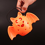 1pc interessante retro hallowmas kerst handig geleid pompoen lamp flash muziek bat lamp