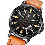 watch men relogio masculino military watch sports waterproof leather mens watch quartz watch wristwatch