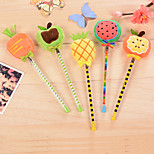 Fruit Plush Neutral Pen(1PC)