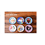 Sharp Creative Dessert Fruit Plate Inventory Heart Children Cartoon Bone China Tableware Ceramic Disc Plates