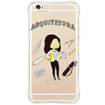 Shockproof/Transparent/Pattern Cartoon TPU Soft Flip TPU Pattern Case For Apple iPhone 6s Plus/6 Plus/iPhone 5/5s/SE