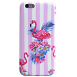 Flamingos Pattern IMD Technology Phone Case TPU Material For iPhone 6s 6 Plus