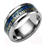 Men Jewelry World of Warcraft Stainless Steel Ring Men Lord of the Rings Titanium Ring