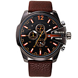Luxury Brand Military Watches Men Quartz Analog Genuine Leather Clock Man Sports Watches Army Watch Relogios Masculino