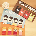 Arc534 Stationery Cute Cartoon Ninja Rabbit Bookmark Magnetic Bookmark Beard Tab To Check Into Four