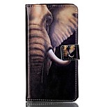 Full Body Card Holder / Flip Elephant's Trunk PU Leather Hard Case Cover For Sony Sony Xperia XP / Sony Xperia M4