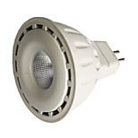 8 GU5.3(MR16) Focos LED MR16 1 COB 550 lm Blanco Cálido / Blanco Fresco Regulable DC 12 V 1 pieza