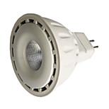 8 GU5.3(MR16) Lâmpadas de Foco de LED MR16 1 COB 550 lm Branco Quente / Branco Frio Regulável DC 12 V 1 pç