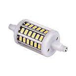 YWXLight 5W R7S  48 SMD 5733 500 lm 360 degree led bulb  Warm White / Cool White Decorative AC 85-265 V