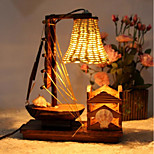 Nightlight Creative Handmade Wooden Sailboat F228 Bar Nightclub Atmosphere Warm Lamp