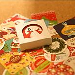 Box Stickers - Christmas Series Korean Decorative Stickers Diary Paste Baking / 38