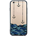 Pattern Cartoon Anchor TPU Acrylic Soft Case Back Cover For Apple iPhone 6s Plus/6 Plus/iPhone 6s/6/iPhone SE/5s/5