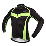 Sports Bike/Cycling Clothing Sets/Suits Men's Long Sleeve Breathable / Quick Dry / Sunscreen Fleece Classic Black