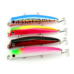 12.6cm 16.3g/PC New Fashion Lure Fishing Supplies Fish Bait Popper Lures Set 4pc