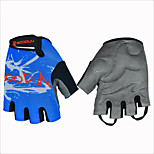 2016 Fitness Ultra Breathable Mesh Fabric Breathable Comfortable Riding Cyling half-finger Sports Gloves 1 Pair