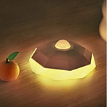 Diamond Body Sensor Night Light Light Control LED USB Charging Nightlight For Corridor