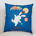 Cartoon Pillow Sofa Cushion Lumbar Pillow Office Car Waist Cushion Pillow Lunch Break Pillow Cover