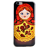 Matryoshka Pattern High Permeability TPU Material Phone Case For iPhone 6s 6Plus SE 5S 5
