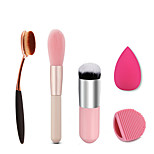 3 Makeup Brushes Set / Blush Brush / Concealer Brush / Powder Brush / Foundation Brush