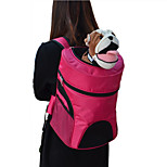 Cat / Dog Carrier & Travel Backpack Pet Carrier Portable / Breathable Black / Green / Blue / Purple / Rose Nylon / Terylene