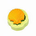 Scallop Shells CupCake Decoration Silicone Fondant Mold Sugarcraft Tools Polymer Clay Chocolate Candy Soap Making