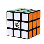 Toys Dayan Stress Relievers / Magic Cube 3*3*3 / Magic Toy Smooth Speed Cube Magic Cube puzzle Black Plastic