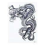1pc Waterproof Temporary Tattoo for Women Men Body Back Art Chinese Dragon Pattern Design Tattoo Sticker HB-227